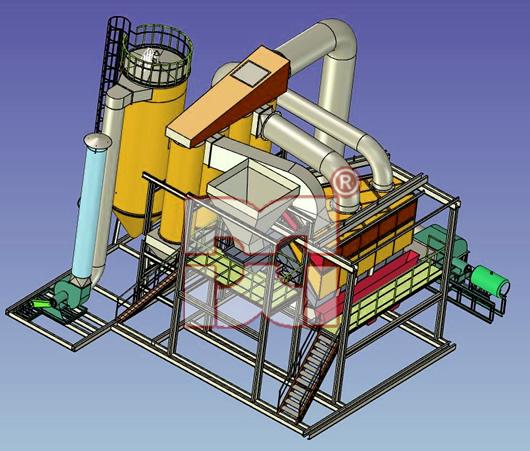 复合式干法选煤机